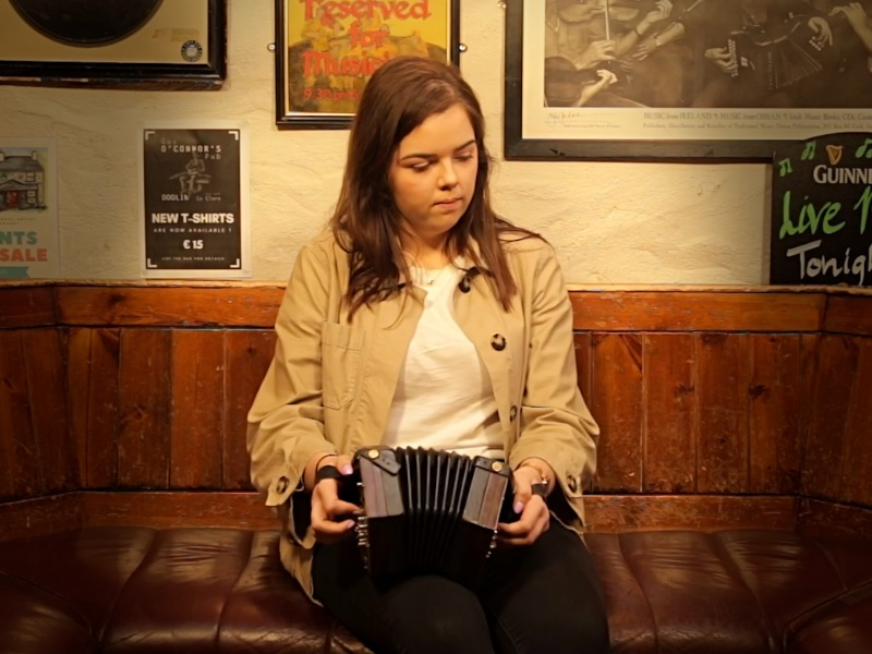 Aine O'Donoghue - Spirit of Doolin - Irish Traditional Music - Concertina